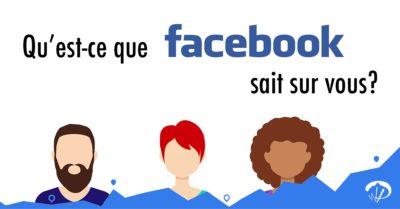Qu'est-ce que Facebook sait sur vous ?