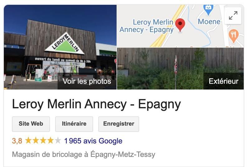 avis fiche google my business