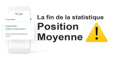 La fin de la Statistique « Position Moyenne »