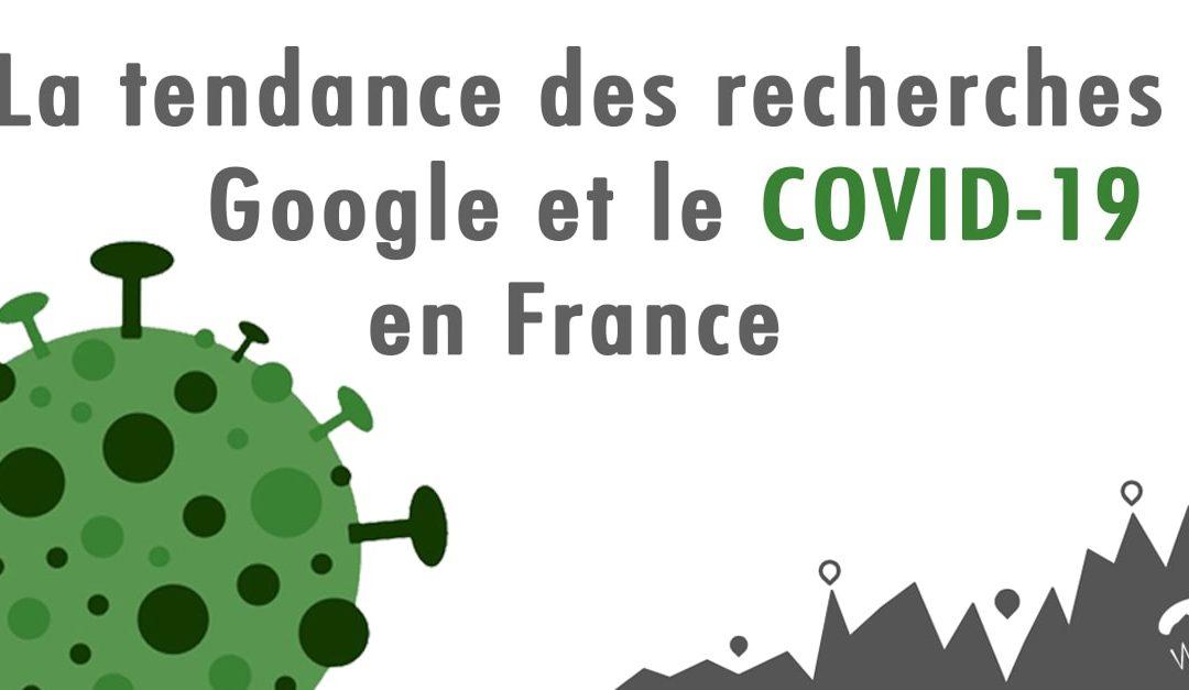 [COVID-19] Analyses des Tendances des Internautes en France