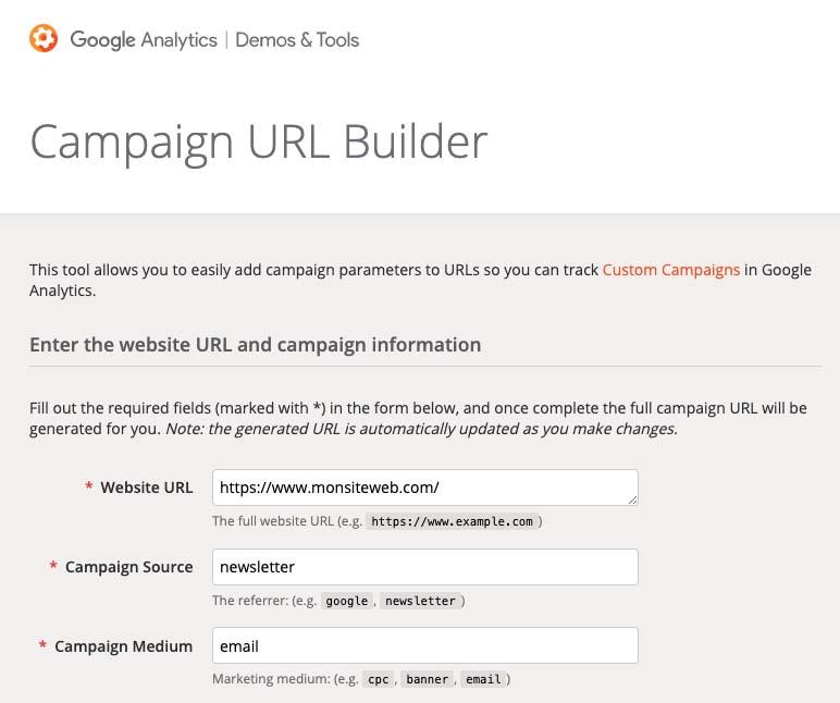 tracking emailing avec google analytics