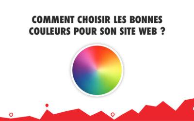 Comment choisir les bonnes couleurs pour son site web ?